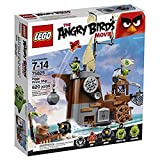 LEGO Angry Birds Barco Pirata de los Cerdos - Juegos de construcción (Multicolor, 7...
