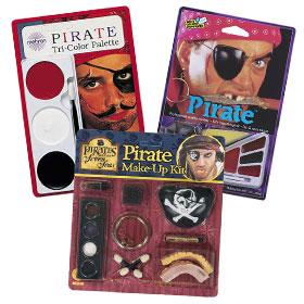 Maquillaje De Piratas