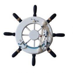 Timón De Barco Pirata