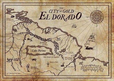Mapa del Tesoro El Dorado